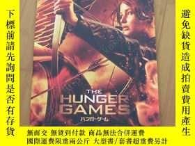 二手書博民逛書店飢餓遊戲罕見電影場刊 The Hunger Games 詹妮弗·