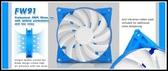 [地瓜球@] 銀欣 SilverStone FW91 9公分 PWM 溫控型 風扇