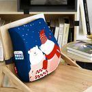 靠墊腰枕護腰靠墊辦公室腰靠汽車記憶棉靠背墊大座椅靠枕卡通腰墊抱枕XW 聖誕禮物