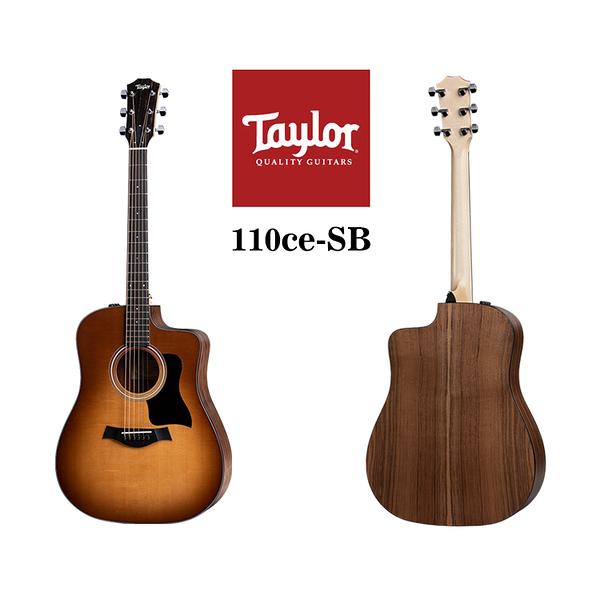 小叮噹的店 - Taylor 110ce-SB 雲杉木 面單 夕陽漸層色 電木吉他 泰勒吉他 1系