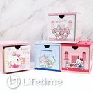 ﹝三麗鷗積木盒﹞正版 積木盒 單抽盒 收納盒 置物盒 木櫃 凱蒂貓 美樂蒂〖LifeTime一生流行館〗