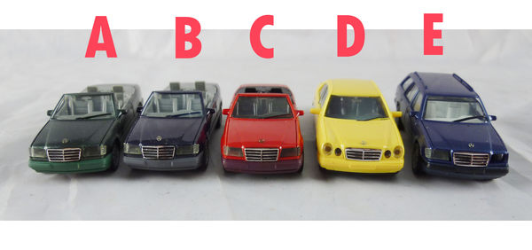 【震撼精品百貨】西德Herpa1/87模型車~Benz-Mercedes-320E Cabriolet/E-KLASSE/T-Model【共5款】