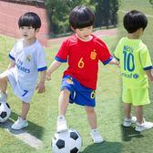世界杯足球服裝 兒童足球服套裝男童寶寶足球衣小學生隊服訓練服   初見居家
