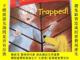 二手書博民逛書店Read罕見at home Trapped:被困在家裏看書Y212829