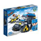新警察系列 NO.7007雪地警用車【BanBao邦寶積木楚崴】