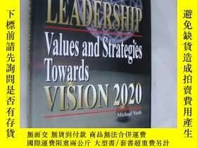 二手書博民逛書店Vision罕見& Leadership,Values and