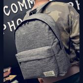 (PP-155)帆布雙肩包中學生書包韓版學院風背包時尚後背包