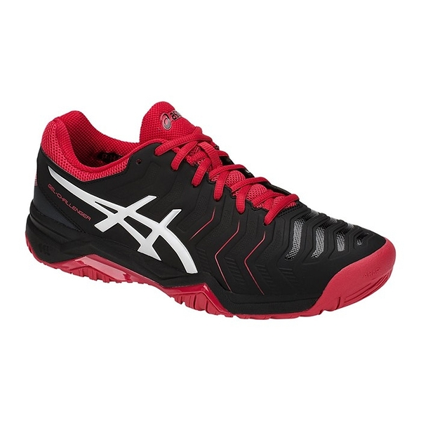 樂買網 ASICS 18FW 進階款 男網球鞋 CHALLENGER 11系列 E703Y-001 贈運動襪