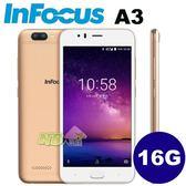 InFocus A3 5.2吋 ◤0利率◢雙鏡頭四核心智慧型手機 (2G/16G)-金色
