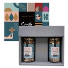 【可夫萊】孔雀藍禮盒(雙活菌三威真果170g、雙活菌三堅奇果200g) -波比元氣