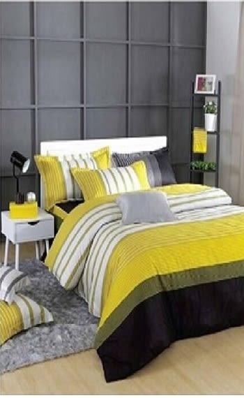 SMART城市風格加大雙人床包枕套三件組
