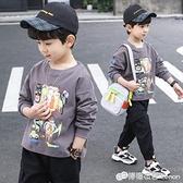 男童上衣 兒童裝男童春秋裝長袖T恤新款中大童衛衣男孩秋季上衣打底衫