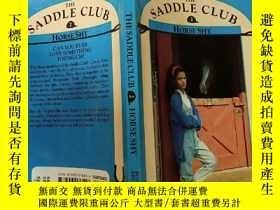 二手書博民逛書店THE罕見SADDLE CLUB 2 :HORSE SHY:馬鞍俱樂部2:怕馬 Y200392