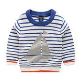 帆船毛線針織衣 長袖上衣 橘魔法Baby magic 現貨 兒童 童裝 男童