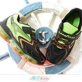 中大男童運動鞋 彈力環大氣墊緩震減壓多功能鞋 魔法Baby