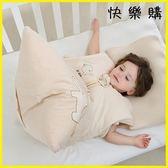 抱被 嬰兒睡袋彩棉防踢被寶寶加長睡袋