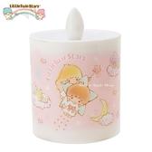 日本限定 KIKI & LALA 雙子星 星空版 蠟燭造型 小夜燈