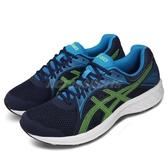 Asics 慢跑鞋 Jolt 2 4E 超寬楦 藍 綠 男鞋 運動鞋 【PUMP306】 1011A206405