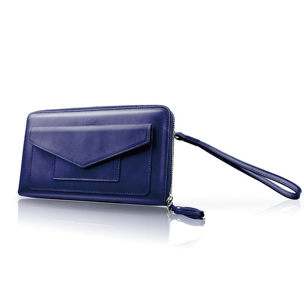 【LIEVO】 STORY - 旅行手機皮夾_深礦藍(iPhone 6S Plus / Note5 / Z5 / 5.7吋螢幕以下手機皆適用) 情人節禮物