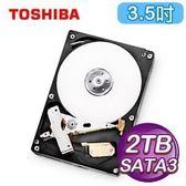 TOSHIBA 2TB HDD 3.5吋 SATA3 AV影音監控專用硬碟 (DT01ABA200V)TOSHIBA 2T【刷卡含稅價】