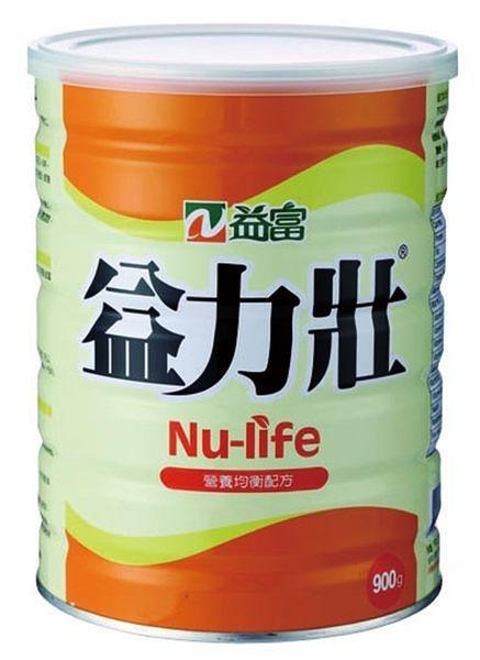益富_ 益力壯 沖泡式營養配方  900g X12罐
