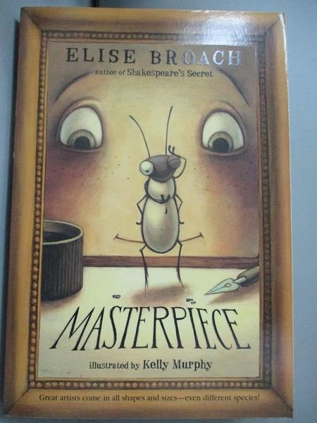 【書寶二手書T7/原文小說_NRU】Masterpiece_Broach, Elise/ Murphy, Kelly (