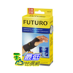 [104美國直購] Futuro MMM-351 352 Energizing Wrist Support, Left Hand 左手 護手