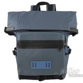 茱麗葉精品【專櫃款 全新現貨】COACH 67312 壓印LOGO 帆布拼接商旅雙肩後背包.藍