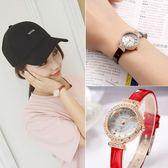 618好康鉅惠品質女錶韓版復古休閒真皮手錶女學生簡約