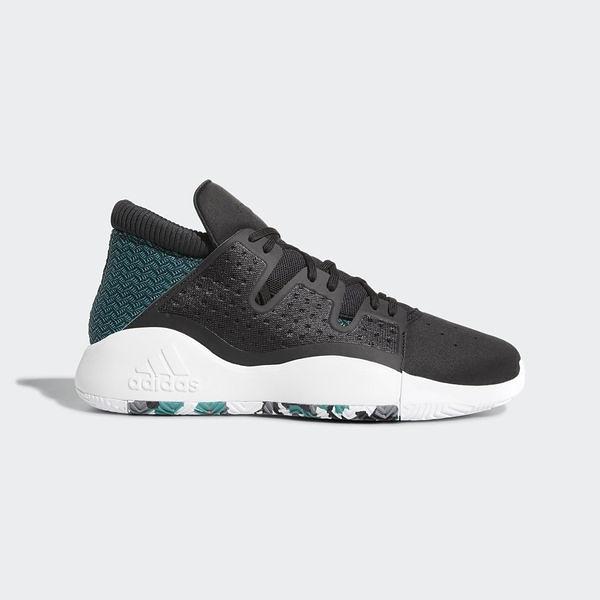 Adidas PRO Vision [D96946] 男鞋 籃球 運動 休閒 避震 黑 綠 愛迪達