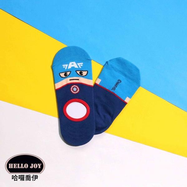 【正韓直送】漫威DC隱形襪 韓國襪子 短襪 船襪 韓襪 女襪 超人 美國隊長 韓妞必備 哈囉喬伊 Y6