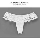 Chasney Beauty-flower girl蕾絲S-L丁褲(白)