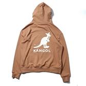 【一月大促折後$1499】KANGOL 帽T 長袖 LOGO 男女 駝棕色 6055106532