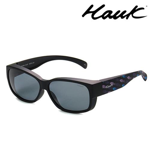 HAWK偏光太陽套鏡(眼鏡族專用)HK1004-67