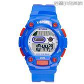 【618好康又一發】兒童手錶防水夜光果凍色電子錶
