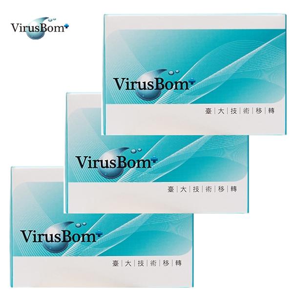 【預購】病毒崩 VirusBom 白麝香燕麥皂 淨膚皂 (3入促銷組) 0038 好娃娃