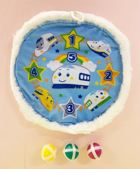【震撼精品百貨】Shin Kan Sen 新幹線~三麗鷗新幹線兒童玩具丟球遊戲組#59297