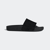 Adidas Adilette W [DA9017] 女 涼鞋 拖鞋 休閒 時尚 海灘 游泳 戲水 大眼睛 黑 愛迪達