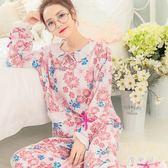 夏季月子服長袖孕婦秋紗布哺乳衣產后純棉睡衣喂奶家居服套裝 QG7430『優童屋』