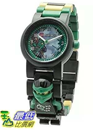 [美國直購] LEGO 8020554 人偶兒童手錶 忍者 Kids Ninjago Sky Pirates Plastic Minifigure Link Watch
