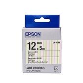 EPSON LK 4EBY  標籤帶繽紛糖果12mm C53S654465