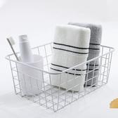 【2條】毛巾條紋學生純棉成人吸水簡約【步行者戶外生活館】