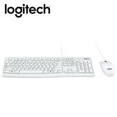 Logitech 羅技 MK120 有線鍵鼠組(白)【送束口收納袋】