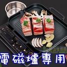 【JIS】K045 電磁爐專用韓式烤盤 塗層烤盤 不粘鍋 導油設計 煎牛排 不沾鍋 韓國烤盤 無煙烤盤