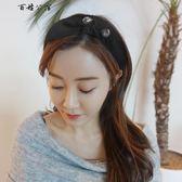 水鉆布藝發箍日韓版甜美氣質發飾