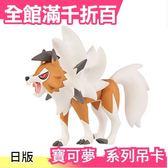 【ESP_15 岩狼人 黃昏形態】TAKARA TOMY寶可夢 神奇寶貝怪物圖鑑EX 吊卡模型【小福部屋】