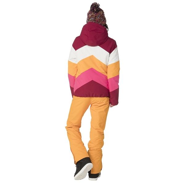 PROTEST 女 機能防水保暖外套 (蘿蔔紅) BELLINI SNOWJACKET