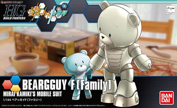 鋼彈模型 HGBF 1/144 BEARGGUYⅢ F Family 熊亞凱III F 衍生機 鋼彈創鬥者TRY TOYeGO 玩具e哥