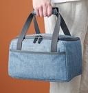 保溫袋 日式大容量保溫袋鋁箔加厚外出飯盒袋子上班族帶飯便當袋手提包【快速出貨八折搶購】