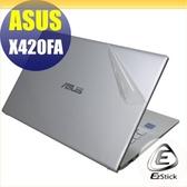 【Ezstick】ASUS X420 X420FA 二代透氣機身保護貼(含上蓋貼、鍵盤週圍貼、底部貼)DIY 包膜